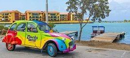 Auto huren Curaçao eend