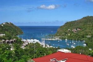 Caribische eilanden St Lucia