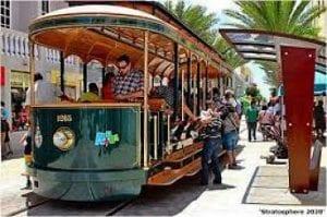 Caribische eilanden tram Aruba