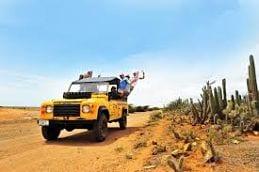 Curaçao vakantie jeepsafari