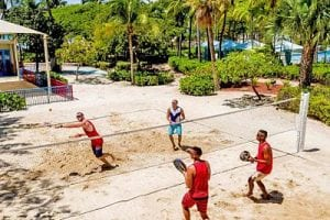 Aruba - One Happy Island - beachtennis